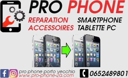 réparation téléphone Porto Vecchio 20137