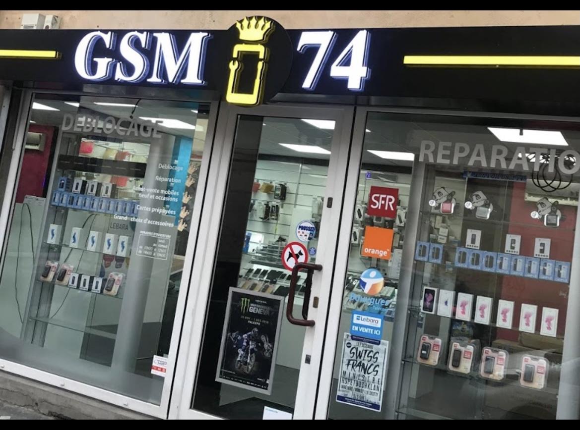 réparation téléphone Annemasse 74100